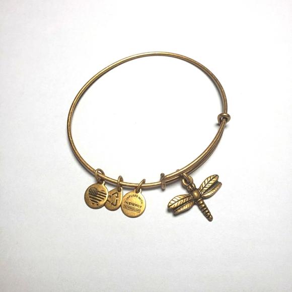 """ALEX AND ANI """"Dragonfly"""" Bracelet Gold"""